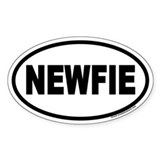 NEWFIE Newfoundland Euro Oval Decal