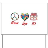 Cute Peace Yard Sign