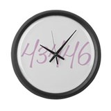 Rattlesnake Island Large Wall Clock