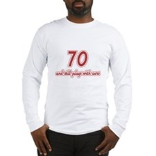 Car Lover 70th Birthday Long Sleeve T-Shirt
