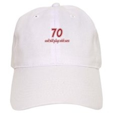 Car Lover 70th Birthday Baseball Cap