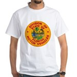 Florida Divison of Motor Vehi White T-Shirt
