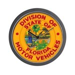 Florida Divison of Motor Vehi Wall Clock