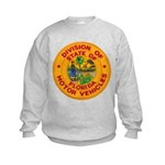 Florida Divison of Motor Vehi Kids Sweatshirt