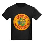 Florida Divison of Motor Vehi Kids Dark T-Shirt