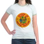 Florida Divison of Motor Vehi Jr. Ringer T-Shirt