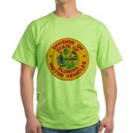 Florida Divison of Motor Vehi Green T-Shirt