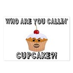 Don't Call Me Cupcake Postcards (Package of 8)