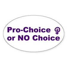 Pro-Choice Decal