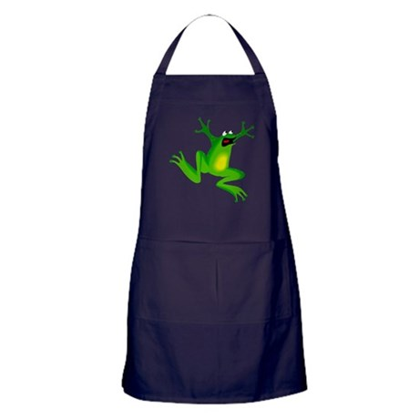 Feeling Froggy Apron (dark)