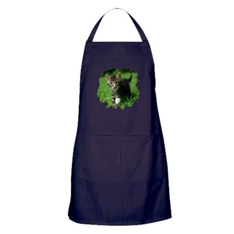 Baby Kitten Apron (dark)