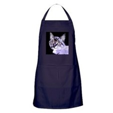 Purple Cat Apron (dark)