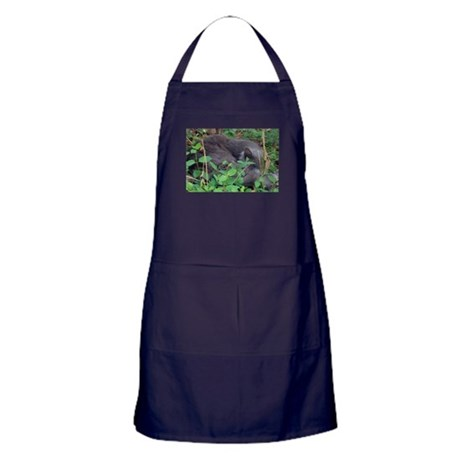 Honeysuckle Nap Apron (dark)