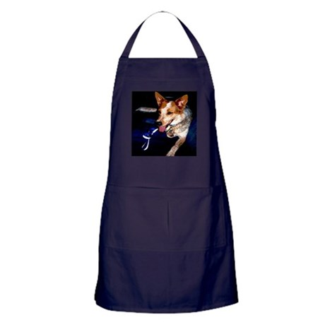 Red Heeler Apron (dark)