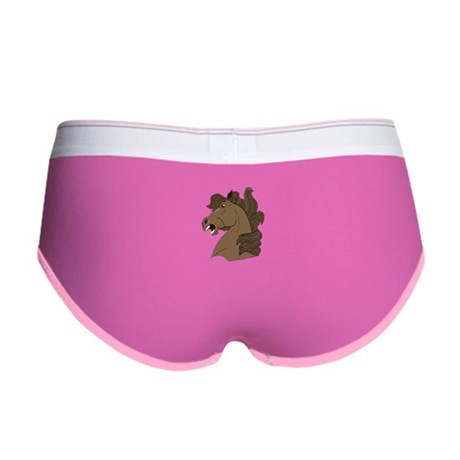 Brown Horse Women's Boy Brief