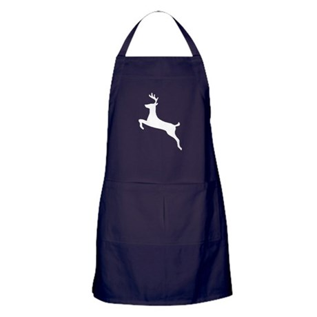 Leaping Deer Apron (dark)