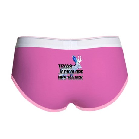 Texas Jackalope Women's Boy Brief