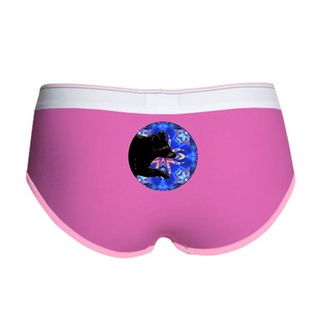 Racoon Kaleidoscope Women's Boy Brief