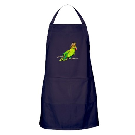 Cockatoo Apron (dark)