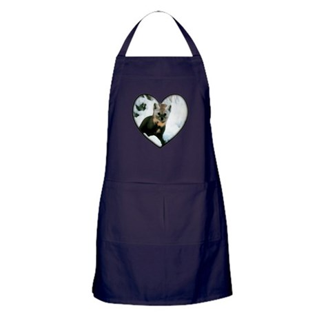 Little Fox Apron (dark)