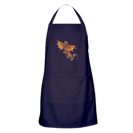 Fantasy Dragon Apron (dark)