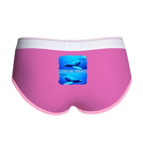 Save the Whales Women's Boy Brief