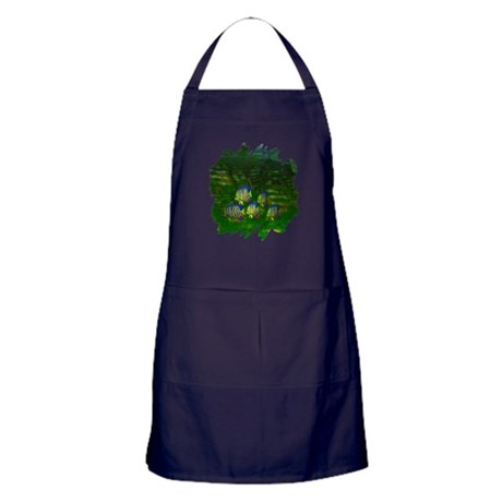 Angel Fish Apron (dark)