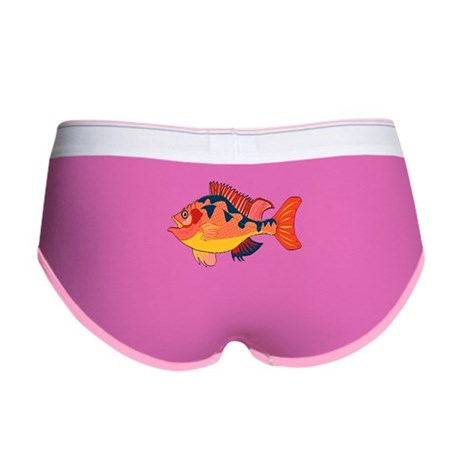 Colorful Fish Women's Boy Brief