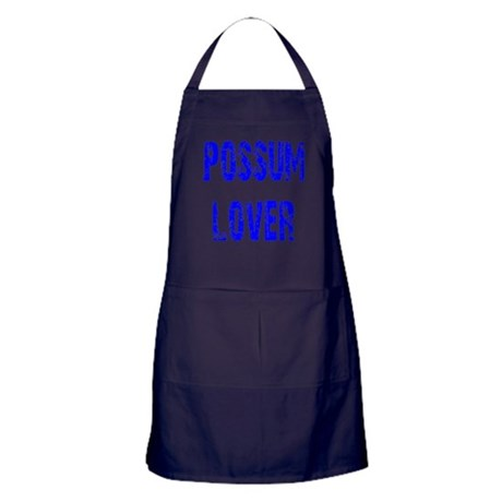 Possum Lover Apron (dark)