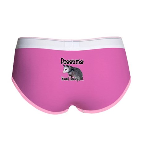 Possums Need Love Women's Boy Brief