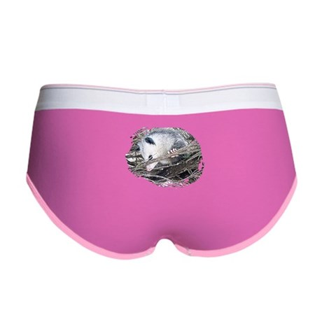 Peek-a-Boo Possum Women's Boy Brief