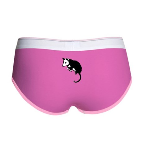 Possum Silhouette Women's Boy Brief