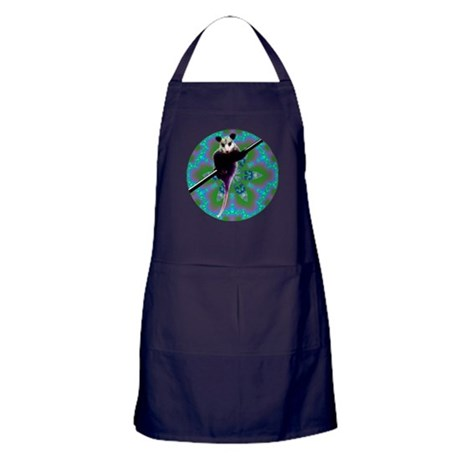 Possum Kaleidoscope Apron (dark)