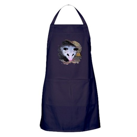 Virginia Opossum Apron (dark)