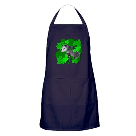 Lucky Irish Possum Apron (dark)