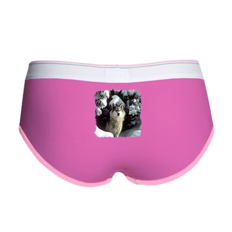 Winter Wolf Women's Boy Brief