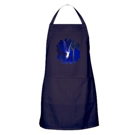 Iridescent Angel Apron (dark)