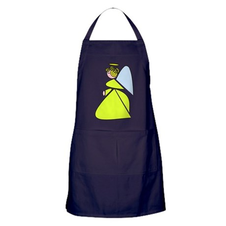 Pretty Angel Apron (dark)