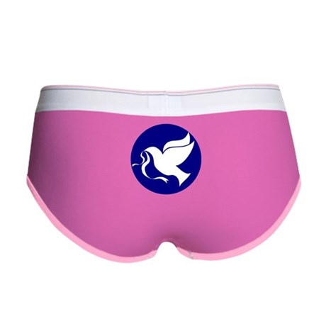 Peace Dove Women's Boy Brief