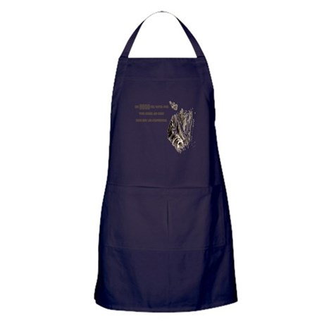 The LORD will Watch Apron (dark)