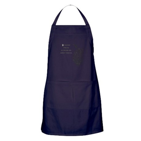 Watching Over Me Apron (dark)