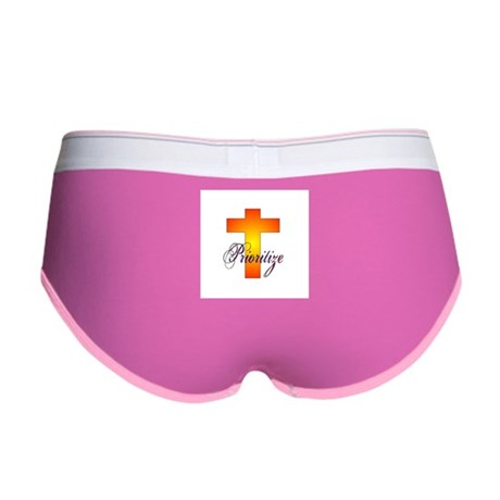 Prioritize Cross Women's Boy Brief