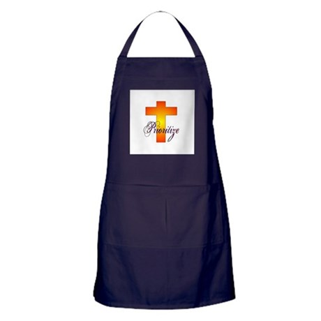 Prioritize Cross Apron (dark)