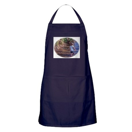 Psalms 23:2 Apron (dark)