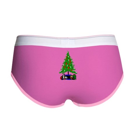 Christmas Tree Women's Boy Brief