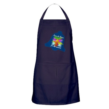 Jesus is the Reason Apron (dark)