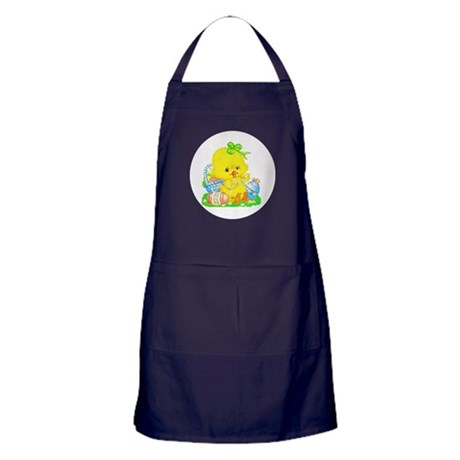 Easter Duckling Apron (dark)