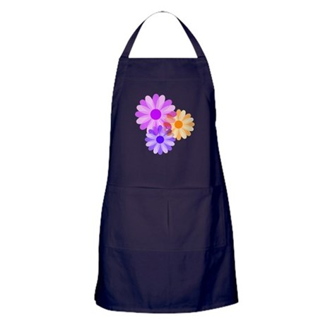 Flowers Apron (dark)