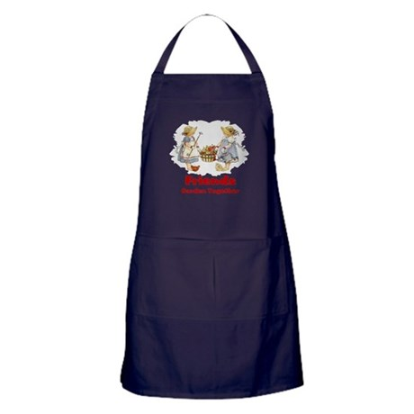 Friends Garden Together Apron (dark)