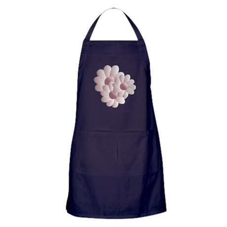 Pretty Daisy Trio - Pink Apron (dark)